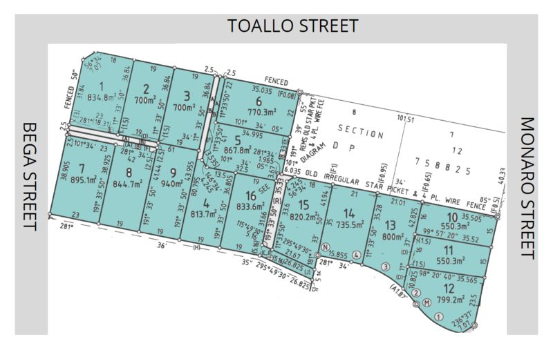 Lot 15 Corner of Monaro Street, Toallo Street and Bega Street, Pambula NSW 2549, Image 1