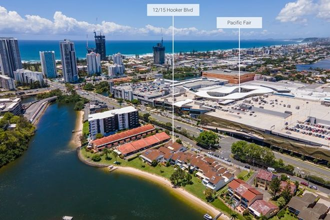 Picture of 12/15 Hooker Boulevard, BROADBEACH WATERS QLD 4218
