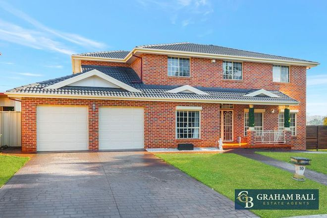 Picture of 10 Noffs Place, BONNYRIGG HEIGHTS NSW 2177