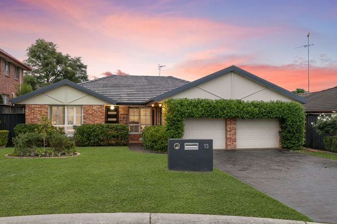 Picture of 13 Ashburton Court, KELLYVILLE NSW 2155