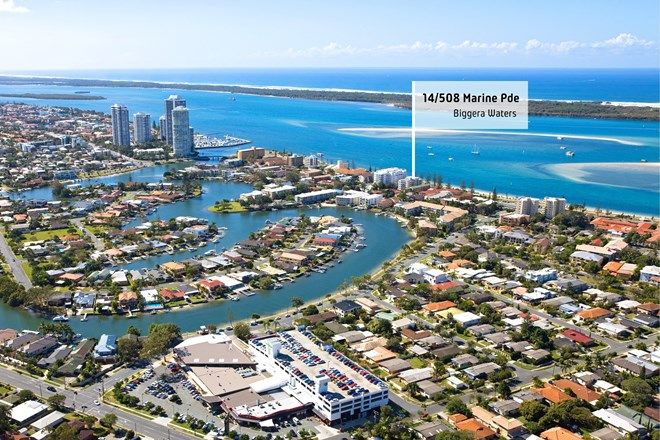 Picture of 14/508 Marine Parade, BIGGERA WATERS QLD 4216