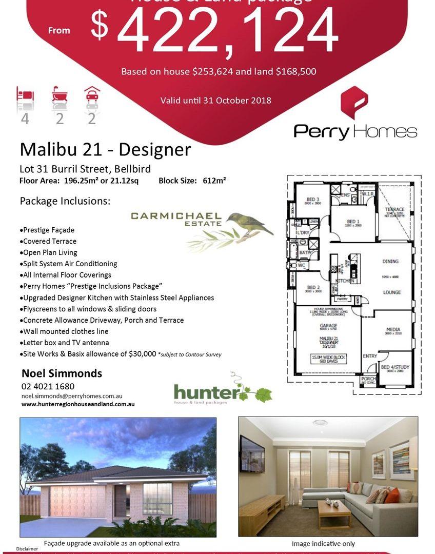 Lot 31 Burril Street, Bellbird NSW 2325, Image 2