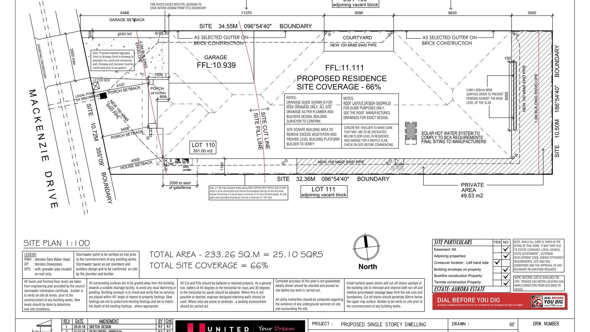 Lot 110 Mackenzie Drive, Wollert VIC 3750, Image 1