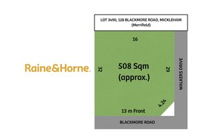 Picture of LOT 3490, 128 BLACKMORE ROAD, Mickleham VIC 3064