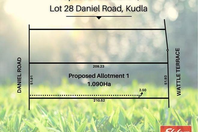 Picture of Prop Lot 1, Lot 28 Daniel Road, KUDLA SA 5115