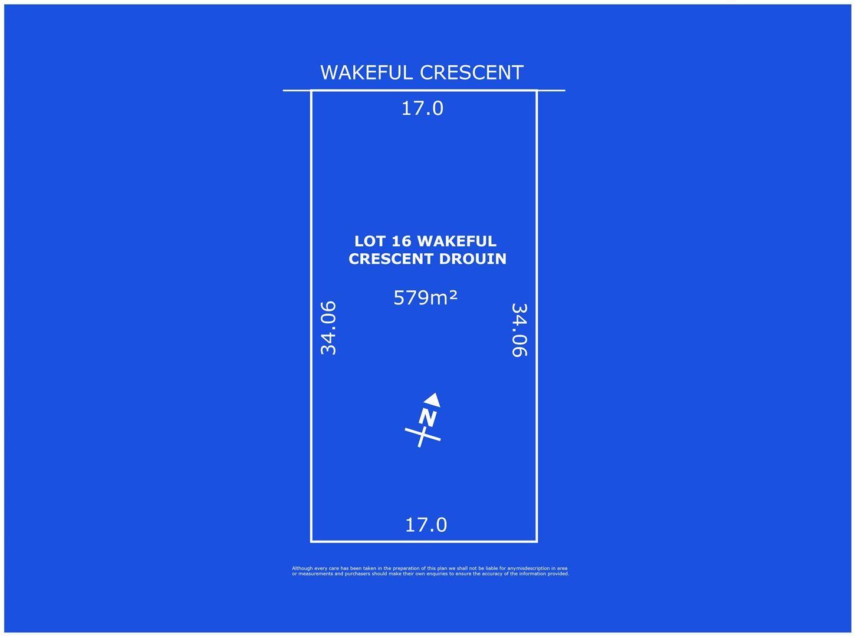 Lot 16 Wakeful Crescent, Drouin VIC 3818, Image 0