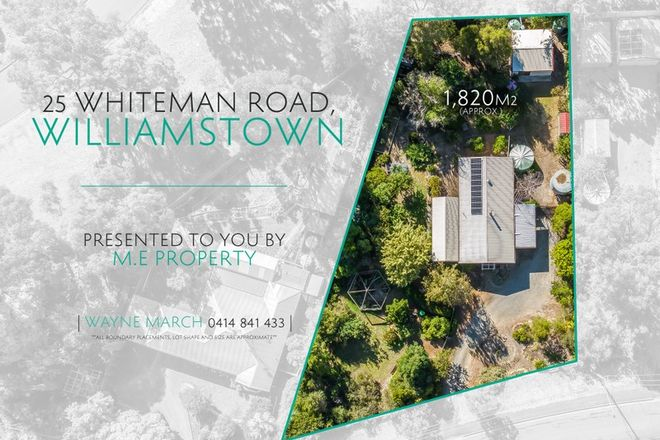 Picture of 25 Whiteman Road, WILLIAMSTOWN SA 5351