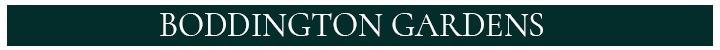 Branding for Boddington Gardens
