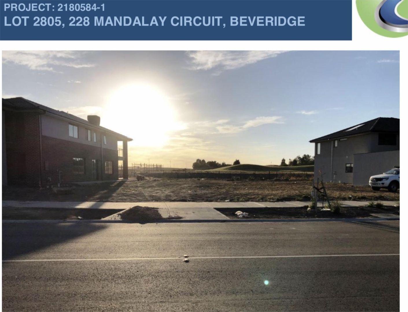 Lot 2805 (228) Mandalay Circuit, Beveridge VIC 3753, Image 2