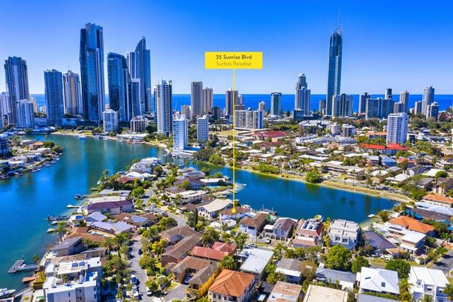 Picture of 35 Sunrise Boulevard, SURFERS PARADISE QLD 4217