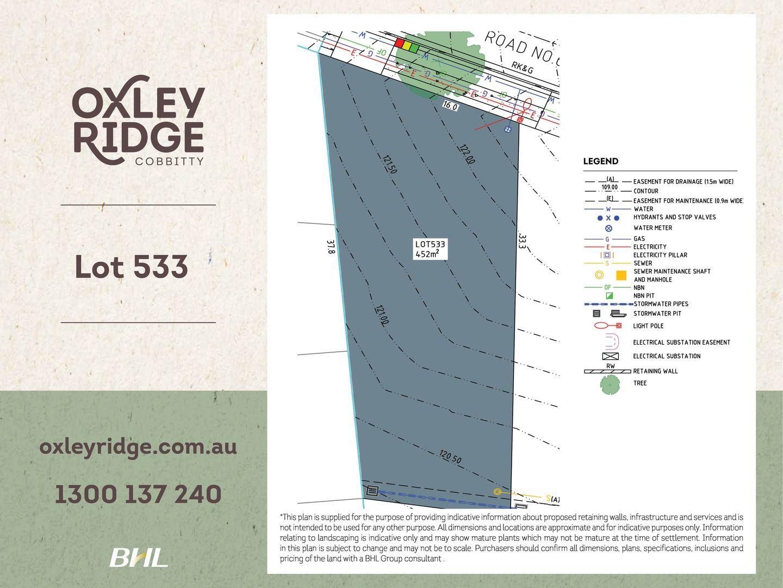 Lot 533 Oxley Ridge, Cobbitty NSW 2570, Image 0