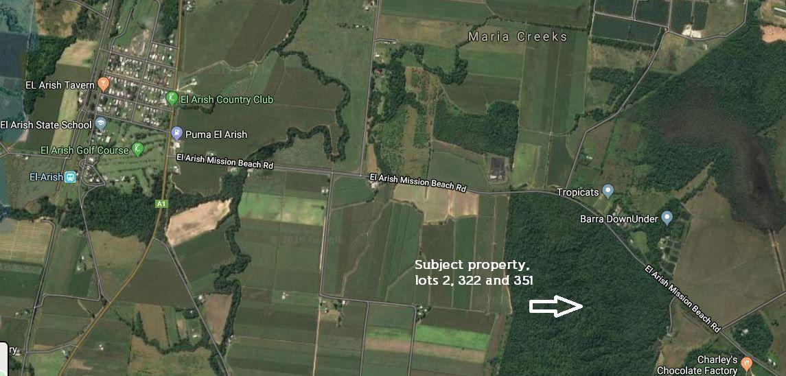 Lots 2,322, 351 Thornhill Road, Maria Creeks QLD 4855, Image 1