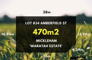 Picture of Lot 834 Amberfield Street, Mickleham VIC 3064