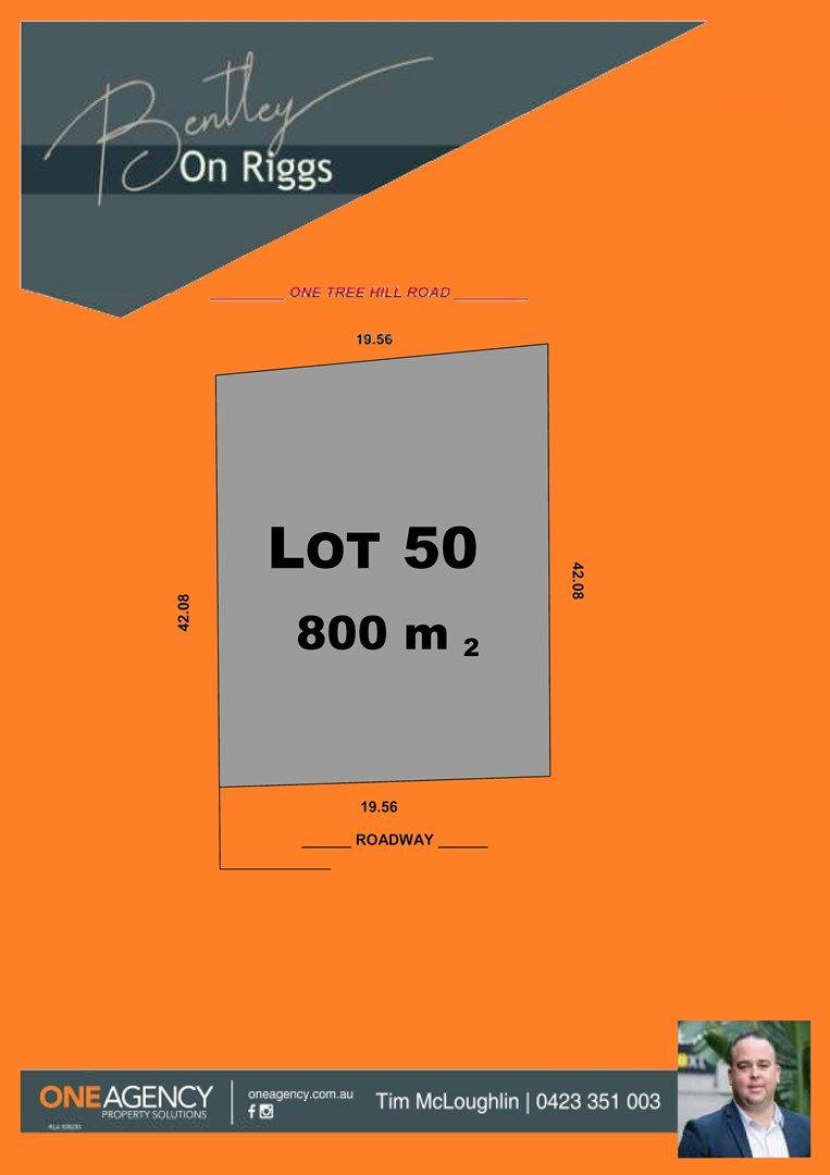 Lot 50 Stage 1 Bentley on Riggs, Evanston Park SA 5116, Image 0