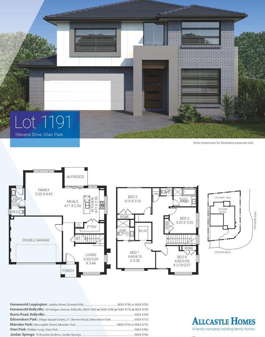 Lot 1191 (34) Stevens Drive, Oran Park NSW 2570, Image 1