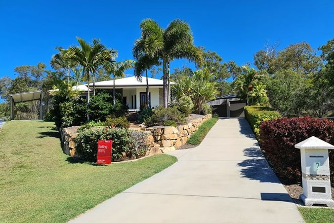 Picture of 7 Caitlin Court, BOYNE ISLAND QLD 4680