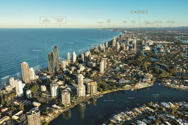 Picture of 707/17 Cannes Ave, SURFERS PARADISE QLD 4217
