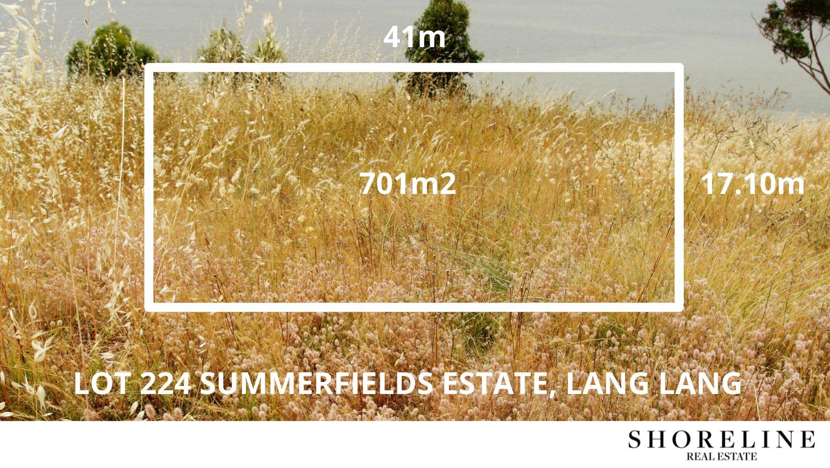 Lot 224 Summerfields Estate, Lang Lang VIC 3984, Image 1