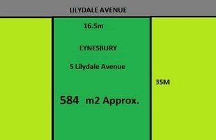 5 Lilydale Avenue, Eynesbury VIC 3338