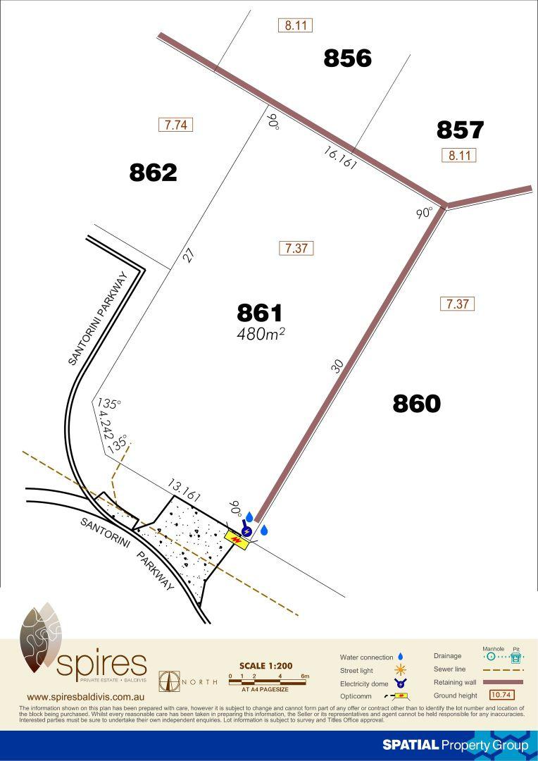 Lot 861 Santorini Parkway, Baldivis WA 6171, Image 1