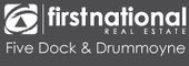 Logo for First National Five Dock Drummoyne