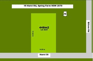 Picture of 19 Hurst St, Spring Farm NSW 2570
