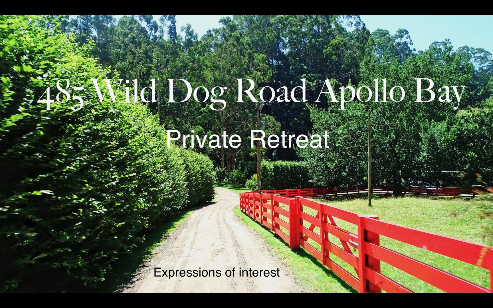 485 Wild Dog Road, Apollo Bay VIC 3233