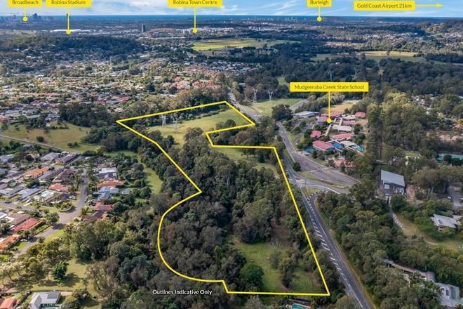 Picture of 186 Gold Coast Springbrook Road, MUDGEERABA QLD 4213