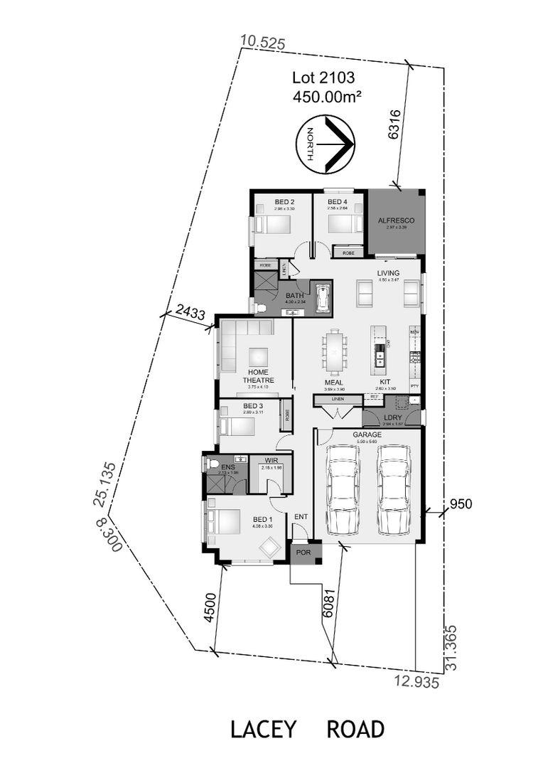 Lot 2103 Lacey Road, Edmondson Park NSW 2174, Image 1