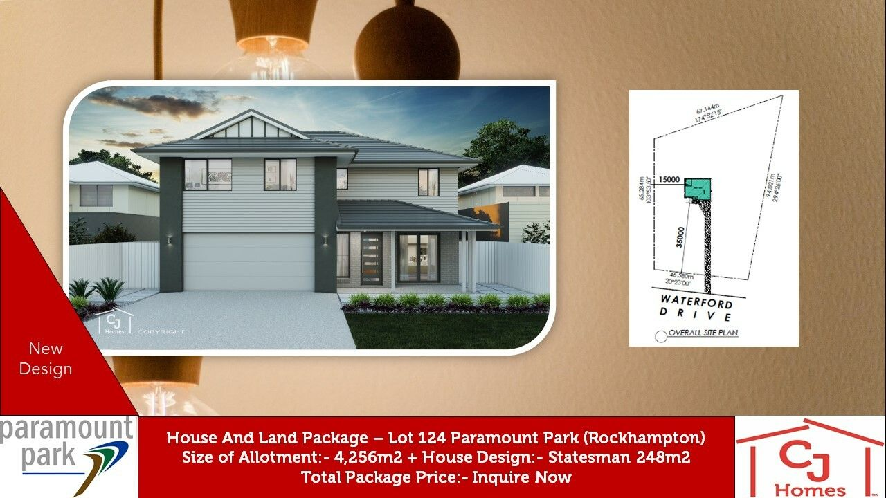 Lot 124 Waterford Dr, Rockyview QLD 4701, Image 0