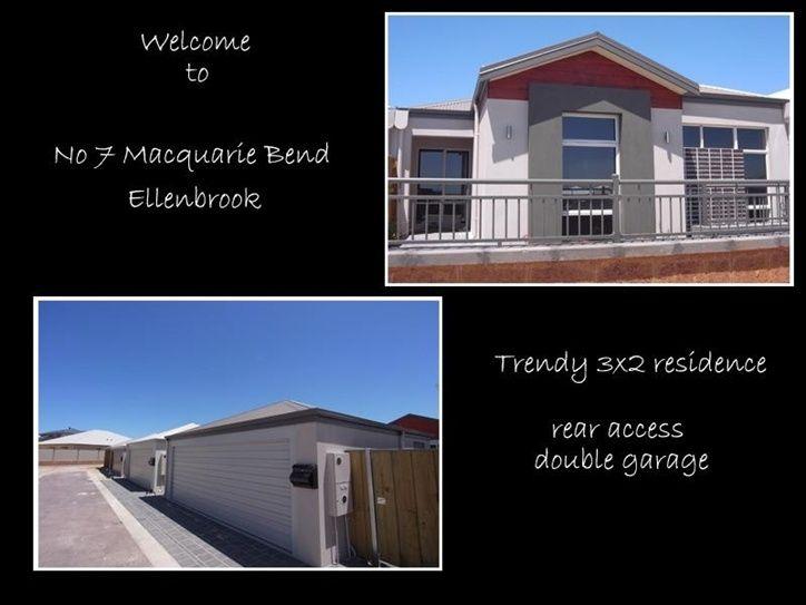 7 Macquarie Bend, Ellenbrook WA 6069, Image 1