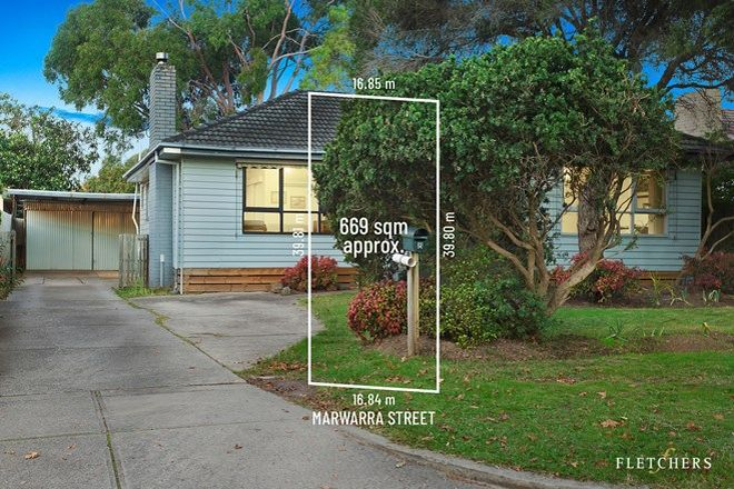 Picture of 8 Marwarra Street, RINGWOOD EAST VIC 3135