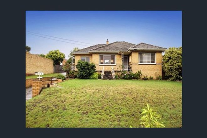 Picture of 1 Montrose Street, ASHWOOD VIC 3147