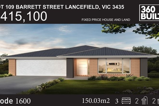 Picture of Lot 9 Barrett Street, LANCEFIELD VIC 3435