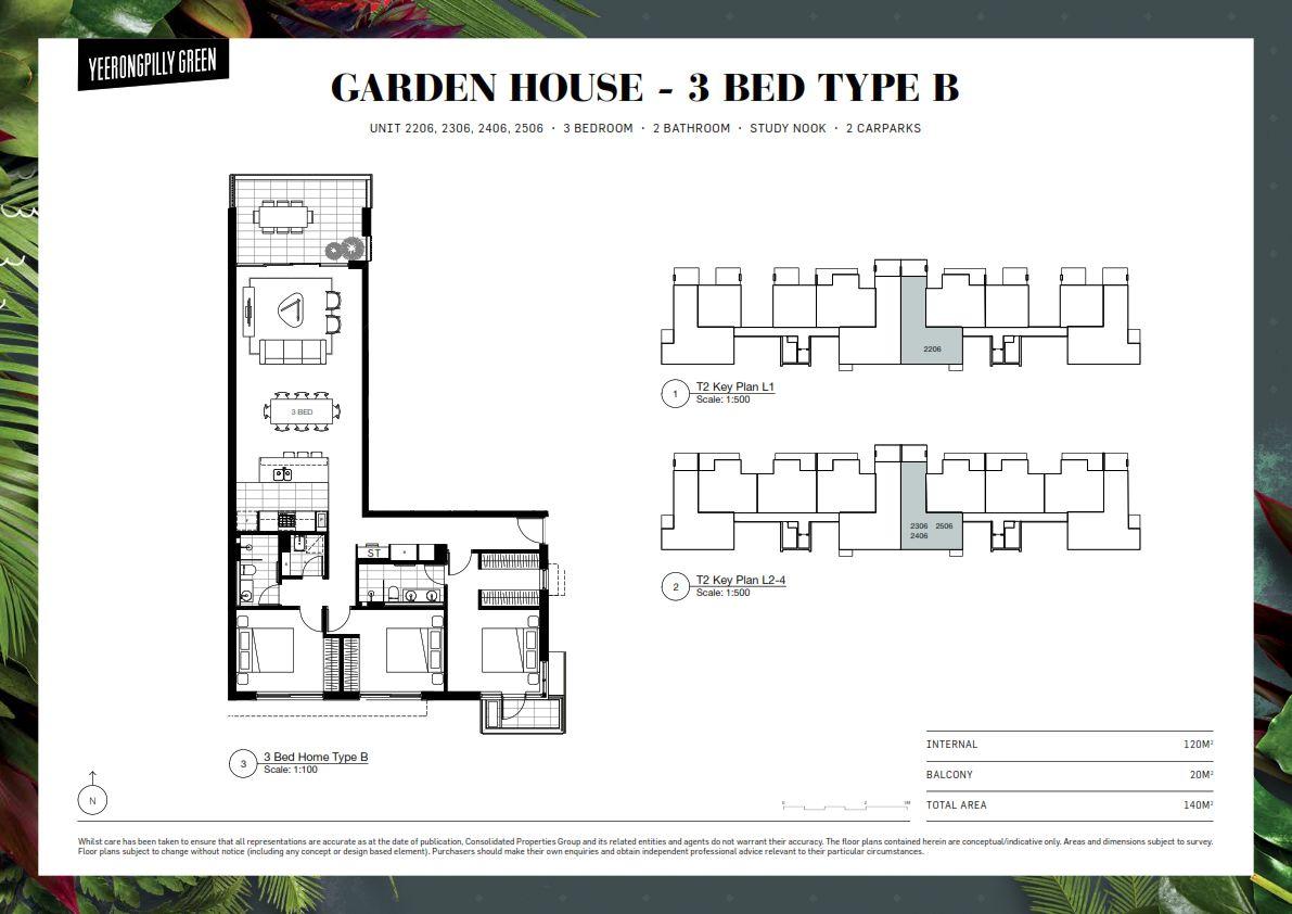 2206/28 Godiva Avenue, Yeerongpilly QLD 4105, Image 0
