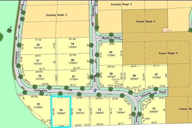 Picture of Lot/74 Lomandra Drive, KIALLA VIC 3631