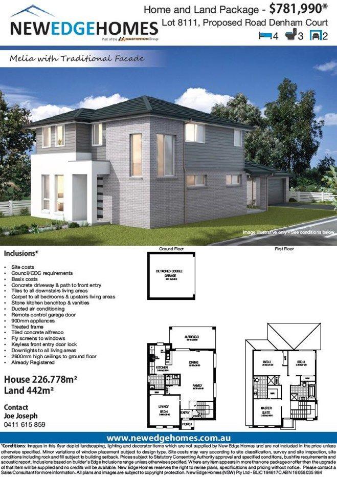 Lot 8111 Proposed Road, Denham Court NSW 2565, Image 1