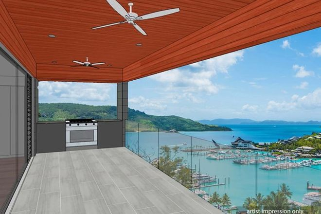 Picture of Harbourside Villa 4/9 Marina Terrace, HAMILTON ISLAND QLD 4803
