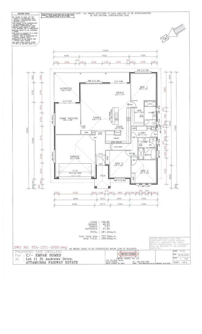 36 St Andrews Drive, Worrolong SA 5291, Image 1