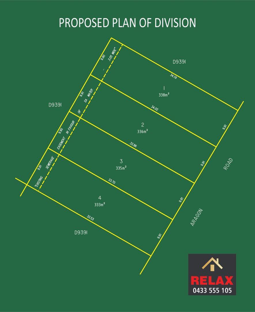 LOT1,2,3,4/15-17 ARAGON ROAD, Ingle Farm SA 5098, Image 0