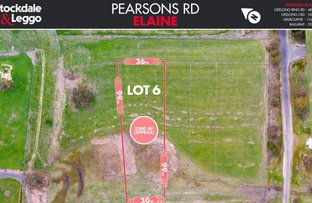 Picture of Lot 6 Pearsons Road, Elaine VIC 3334