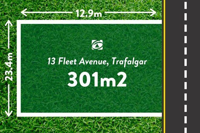 Picture of 13 Fleet Avenue, TRAFALGAR VIC 3824