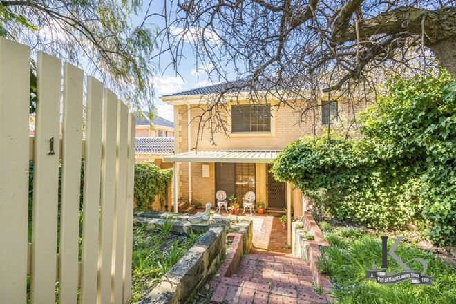 Picture of 1/52 Lawley Crescent, MOUNT LAWLEY WA 6050