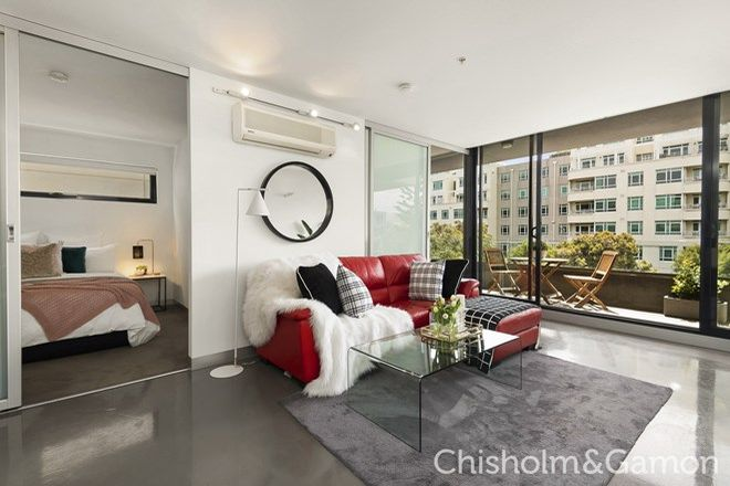 Picture of 207/25 Pickles Street, PORT MELBOURNE VIC 3207