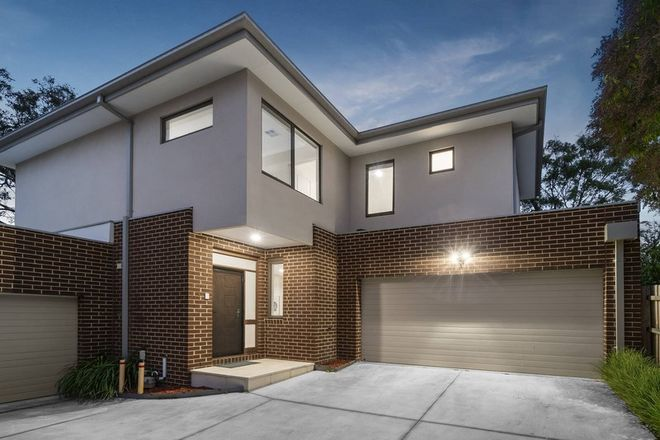 Picture of 3/838 Canterbury Road, BOX HILL SOUTH VIC 3128