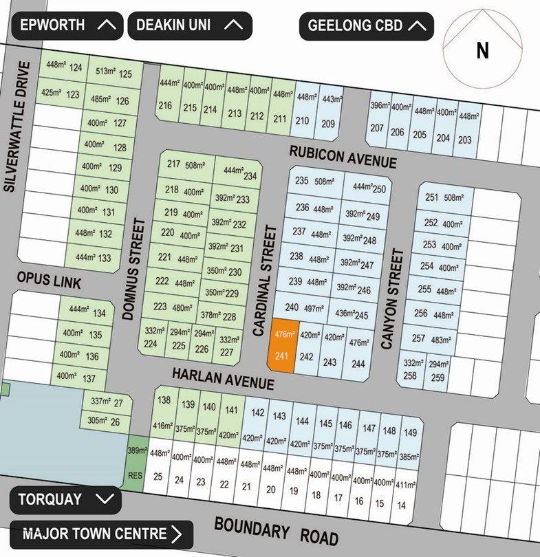 Lot 241 Harlan Avenue, Mount Duneed VIC 3217, Image 0