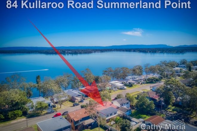 Picture of 84 Kullaroo Road, SUMMERLAND POINT NSW 2259