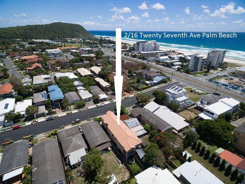 2/16 Twenty Seventh Avenue, Palm Beach QLD 4221, Image 0