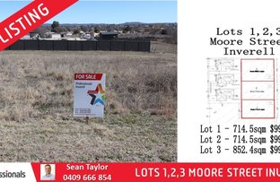 Picture of Lot 1-3 Moore Street, Inverell NSW 2360
