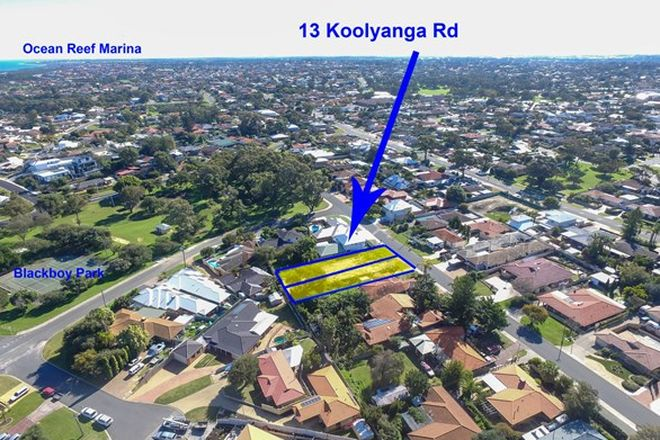 Picture of 13 Koolyanga Road, MULLALOO WA 6027